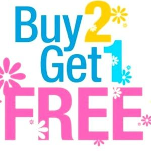 Buy 2 Get 1 FREE on ALL <$15 Items!!